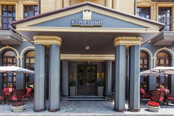 Отель Курортный,фасад