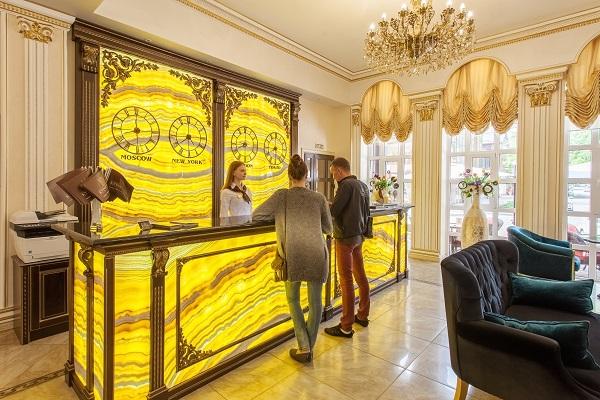Отель Курортный,ресепшн