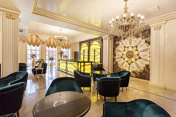 Отель Курортный,Холл лобби-бар