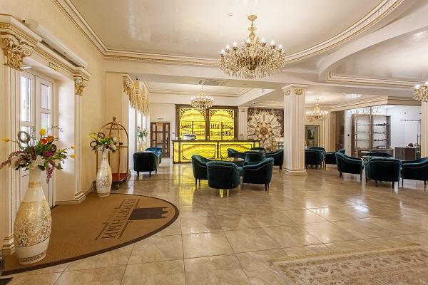 Отель Курортный,холл