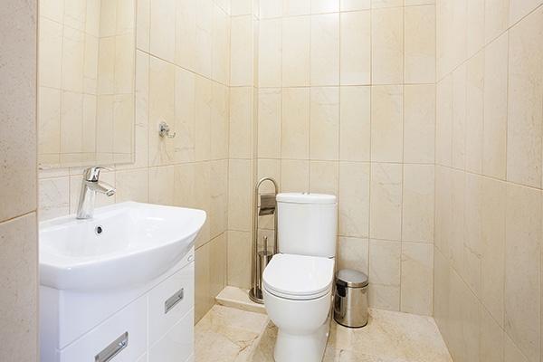 Туалетная комната спа