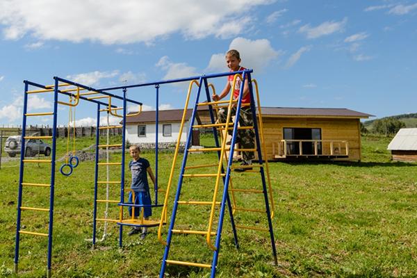 Санаторий Маральник Алтай,Детская площадка