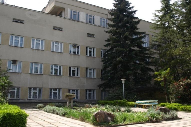 Санаторий Алуштинский,Лечебный корпус