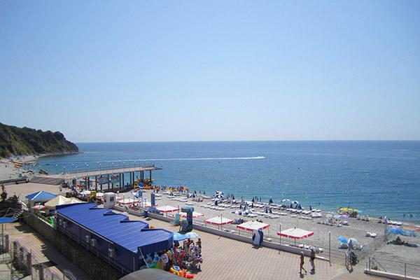 Отель PARADISE отель,Пляж