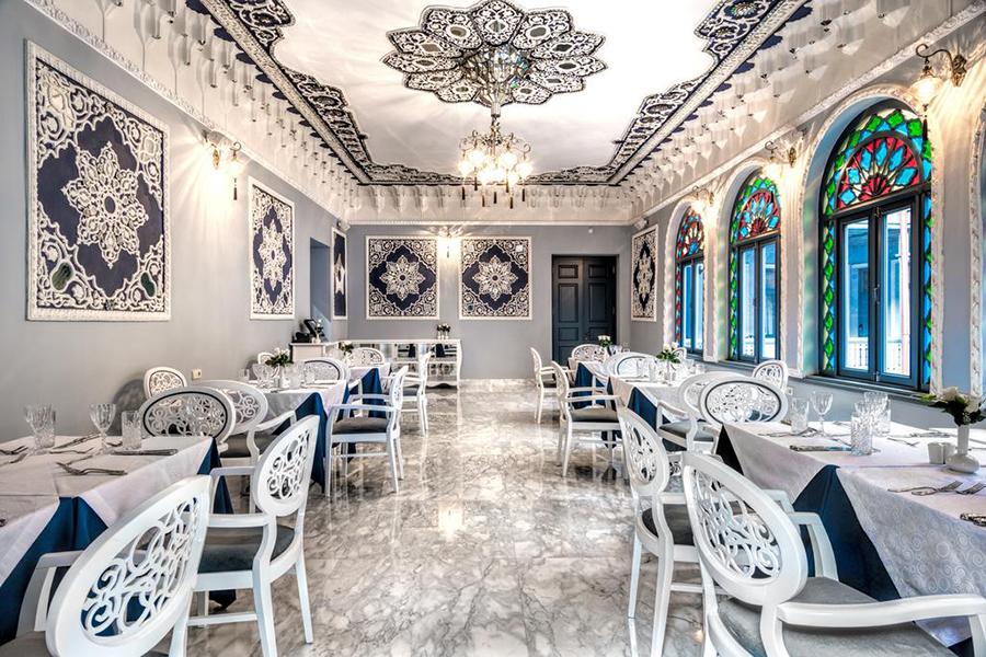 Отель Golden Tulip Borjomi,ресторан