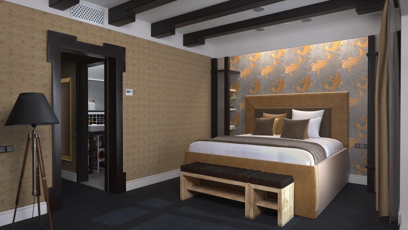 Отель РЫБЗАВОД,Спальный корпус. Номер 3