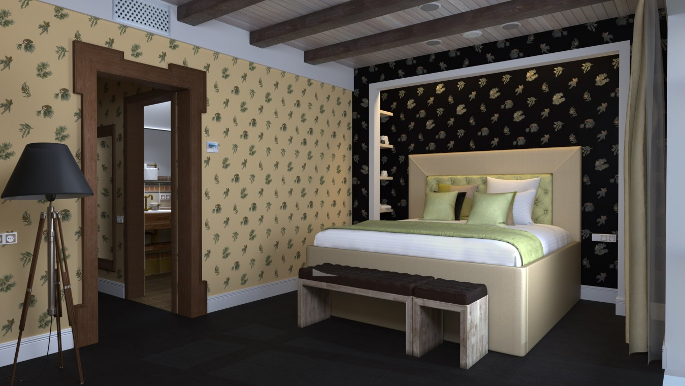 Отель РЫБЗАВОД,Спальный корпус. Номер 7