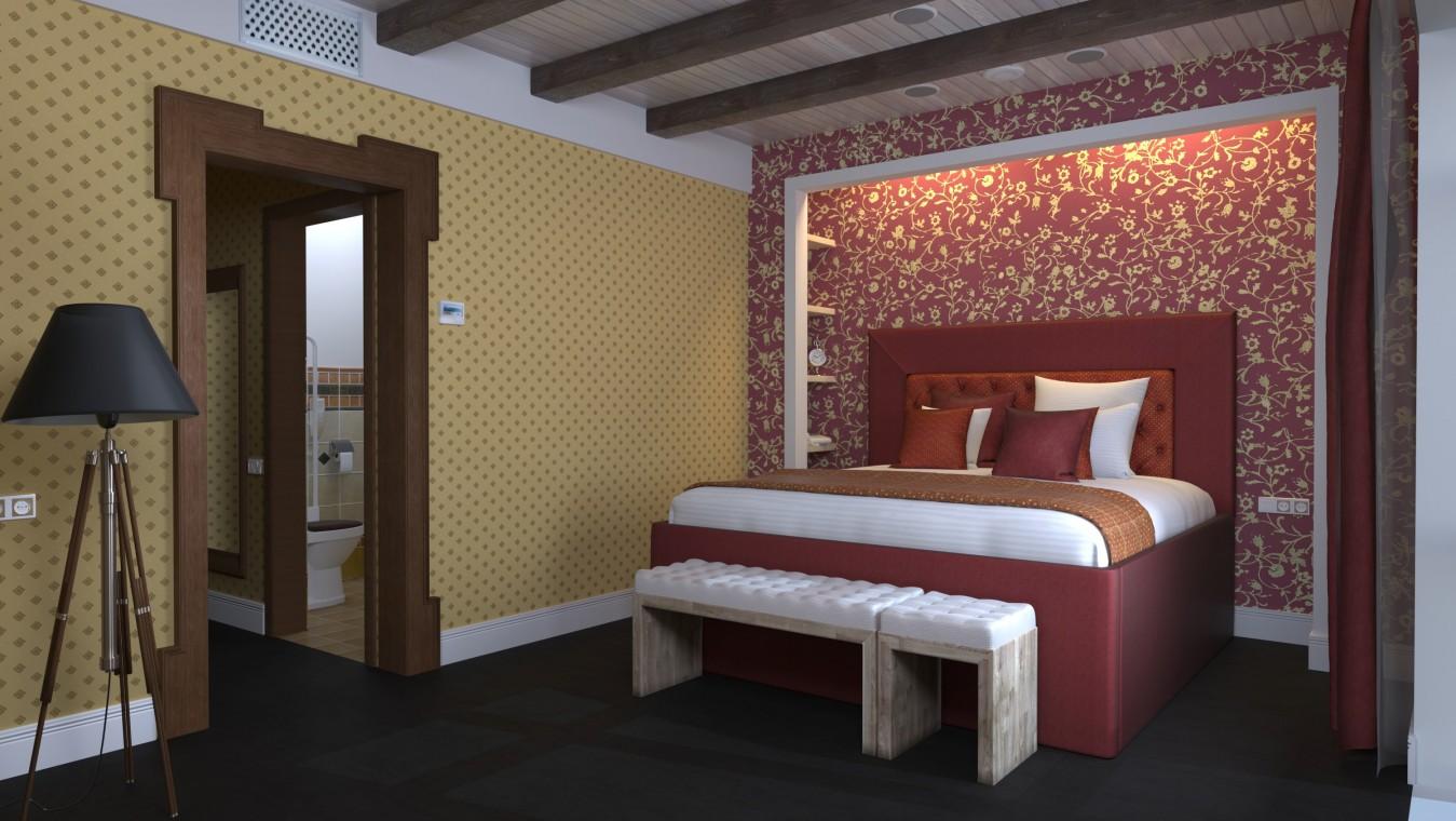 Отель РЫБЗАВОД,Спальный корпус. Номер 1