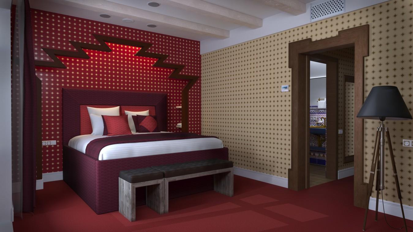 Отель РЫБЗАВОД,Спальный корпус. Номер 2