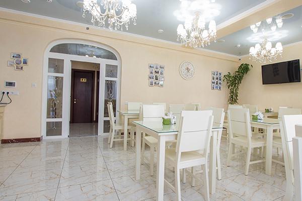Вилла Валентина,Ресторан