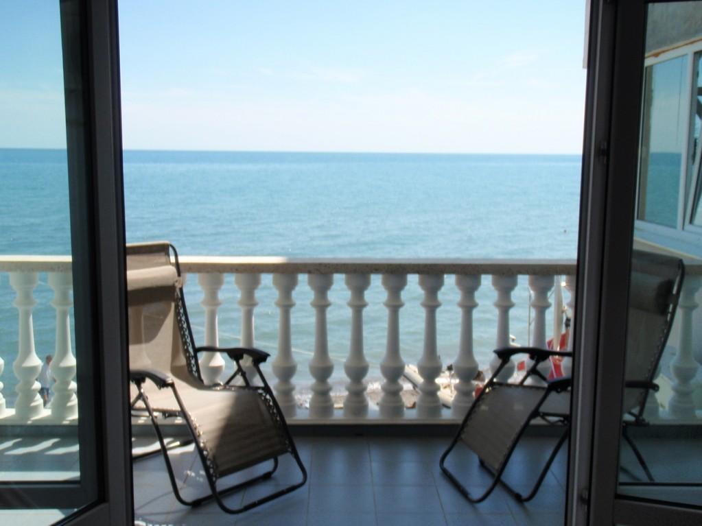 Отель Чайка ,Вид с балкона