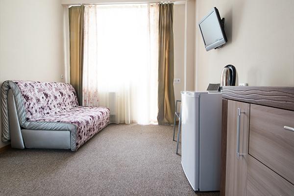 Отель Атлантик ,Студио 4-местный 2-комнатный горы (5)