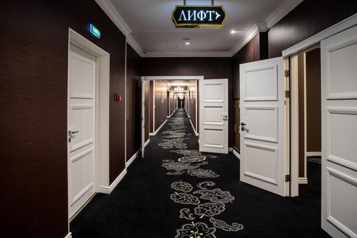 Гостиница Шамбала,Холл отеля