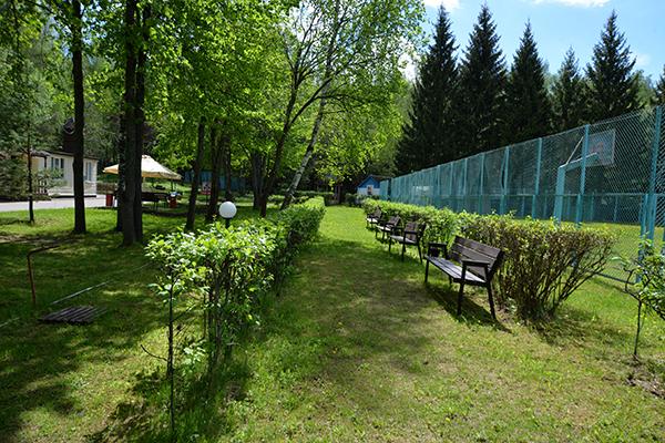 Парк-отель Флора парк отель,Территория