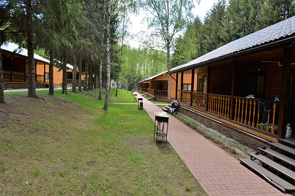 Парк-отель Флора парк отель,Домики