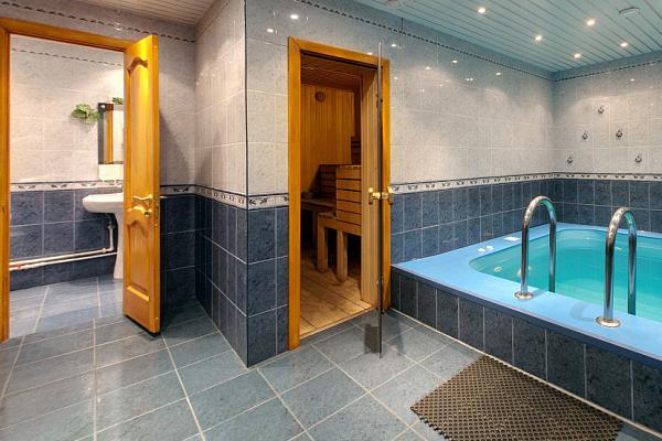 бассейн малый гостевой дом