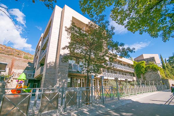 Вилла Олива-Арт,Фасад. Внешний вид здания