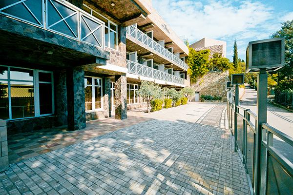 Вилла Олива-Арт,Внешний вид здания