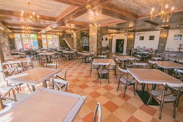 Вилла Олива-Арт,Ресторан