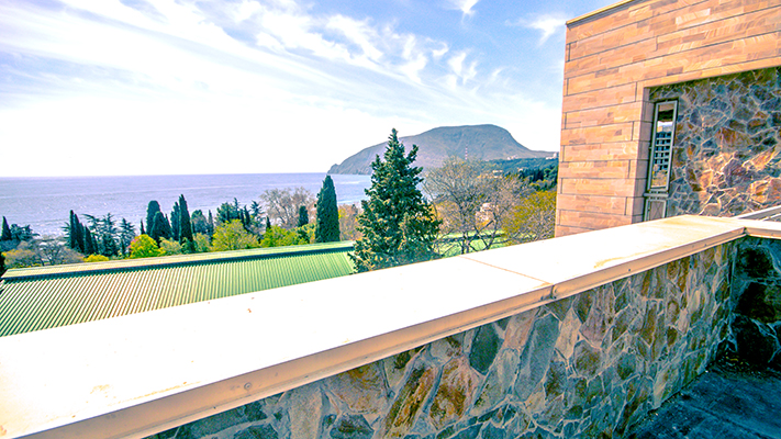 Вилла Олива-Арт,Вид с балкона