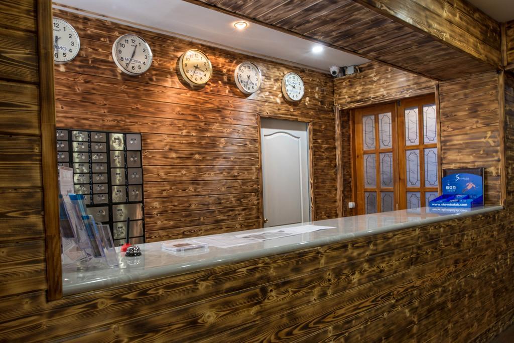 Отель SHYMBULAK RESORT HOTEL,стойка регистрации