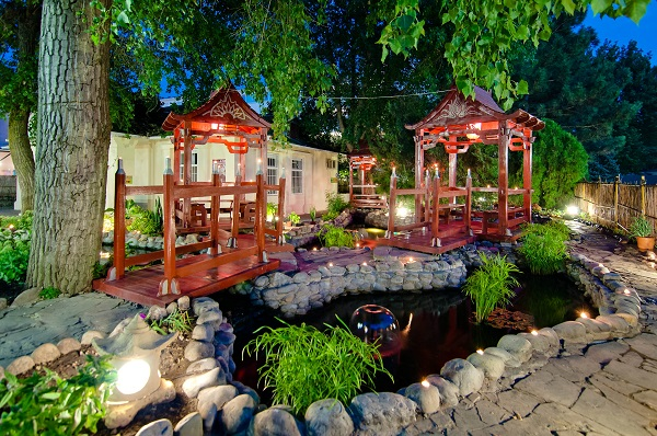 Китайский дворик