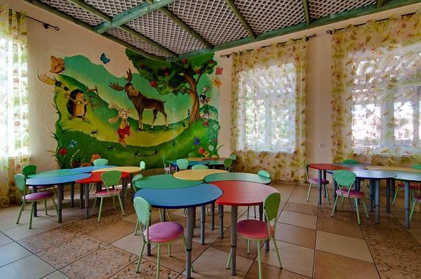 Ресторан «Ривьера» детский зал