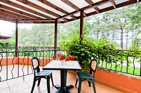 Студия балкон/дворик