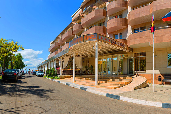 Отель Боспор,Вход в отель