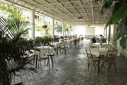 Отель Боспор,Летнее кафе Боспор