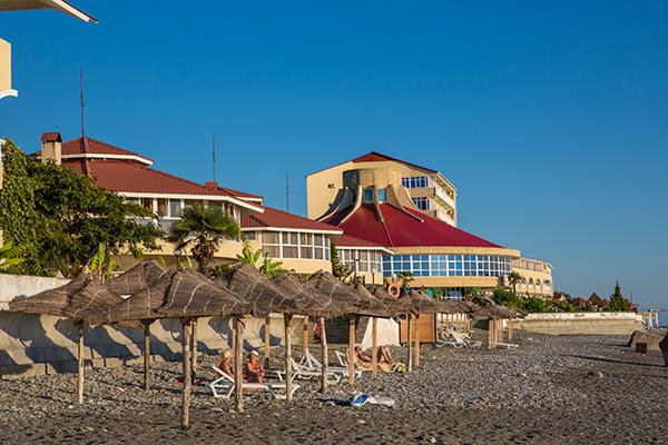 Лечебно оздоровительный комплекс Горный воздух ,Пляж