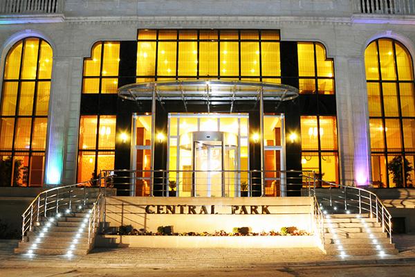 Отель Central Park Baku,Фасад