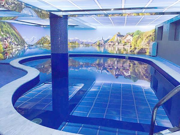 Отель Villa Palace ,бассейн