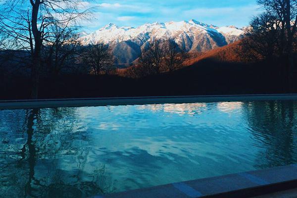 Отель Green Flow,Swimming pool