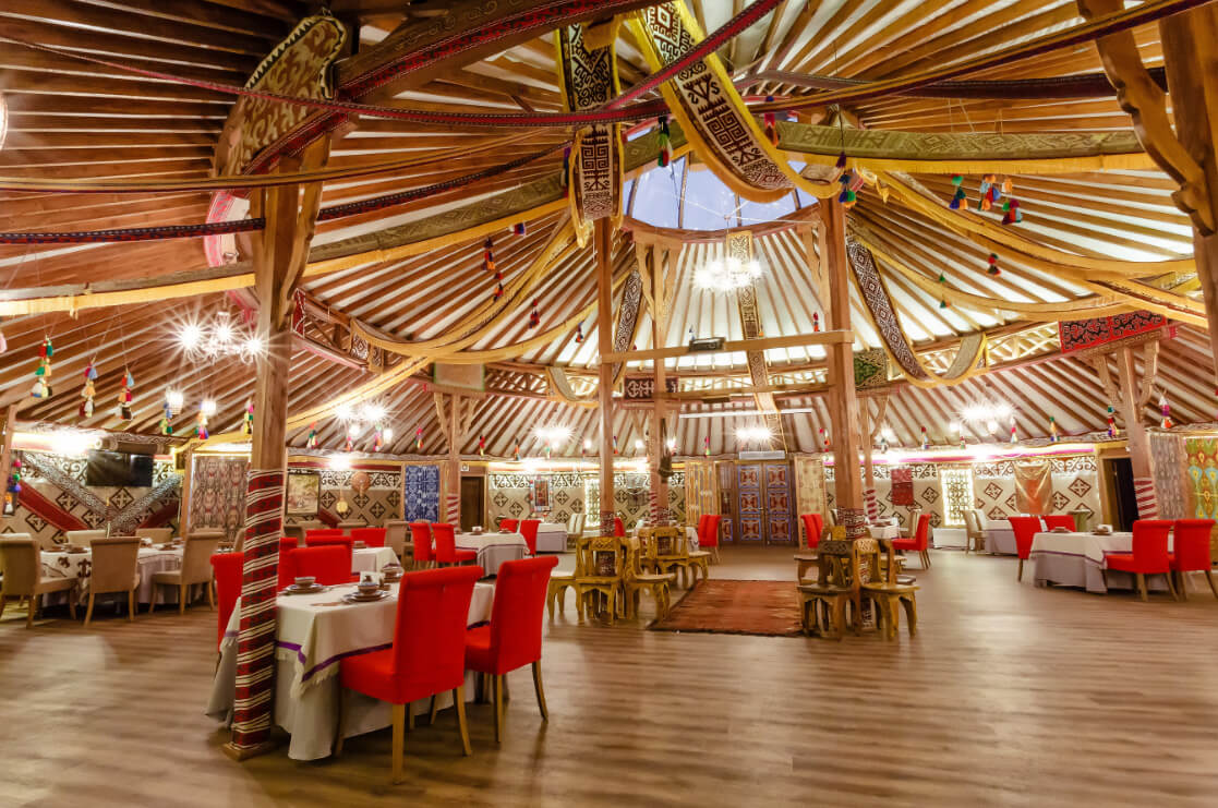 Отель Lesnaya Skazka,ресторан