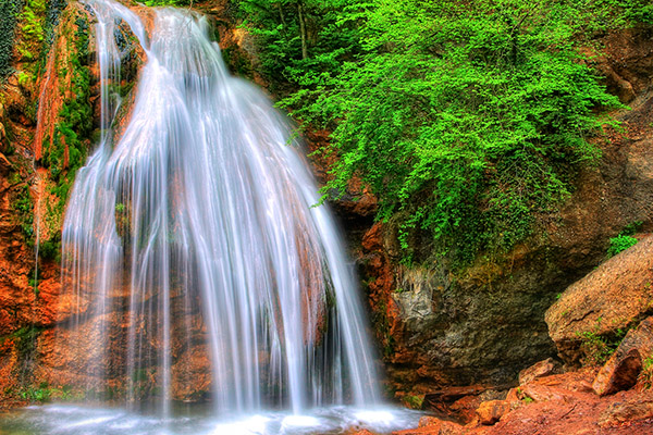 Водопад Джур Джур. Достопримечательности