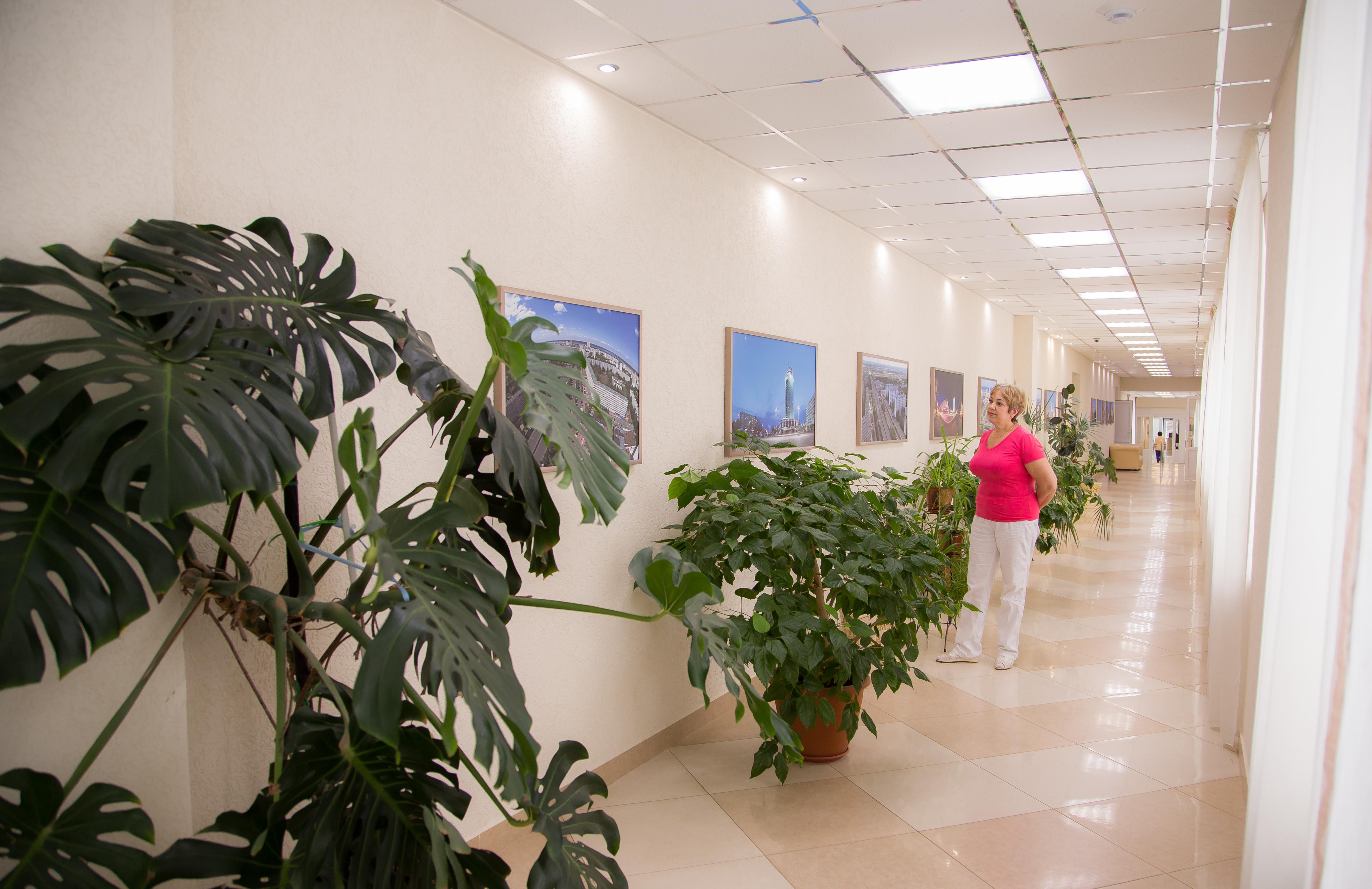 Санаторий Набережные Челны,Корридор