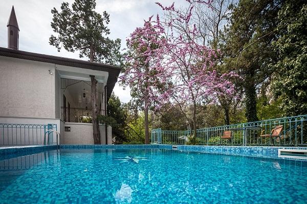 Гостевой дом Вилла Эдем,Открытый бассейн