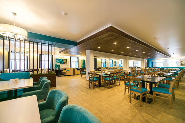 Санаторий PARUS Medical Resort&Spa,ресторан