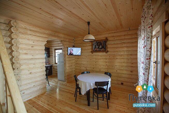 Сруб 6-местный 3-комнатный 2-этажный, фото 1