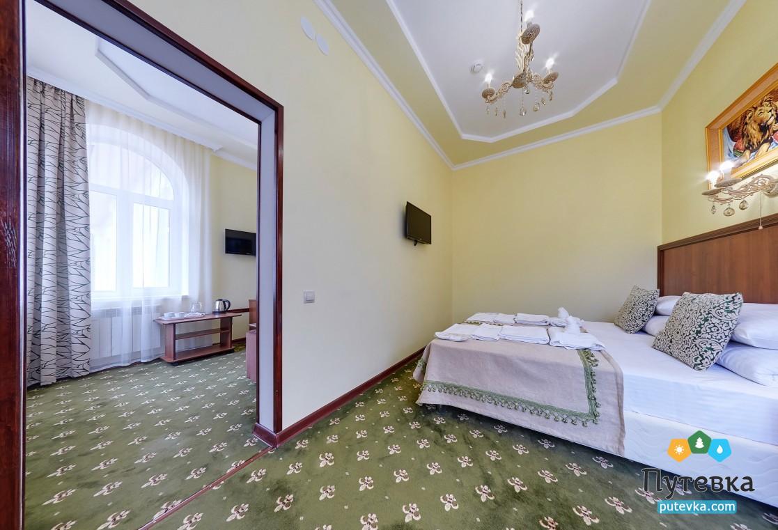 Джуниор сюит 2-местный 2-комнатный (без балкона), фото 2
