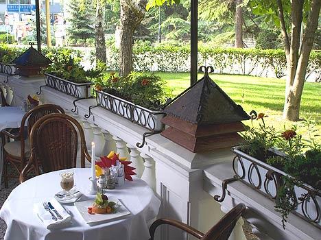 Отель Ореанда,Кафе «Terrazza»