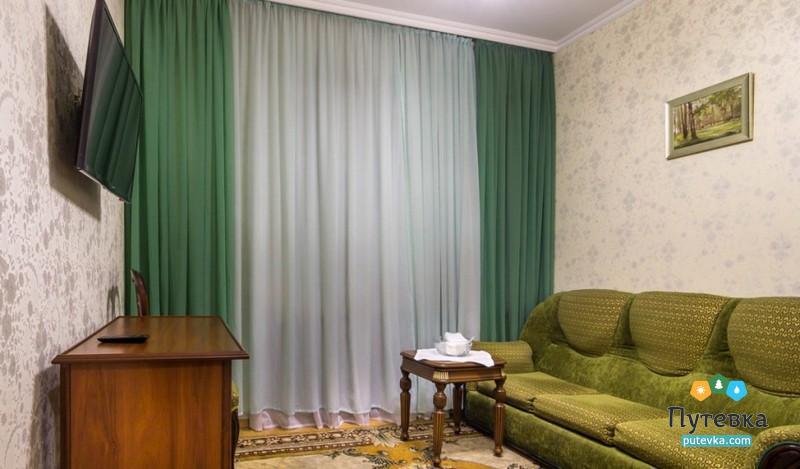 Люкс 1-местный 2-комнатный Стандарт (корпус №1), фото 3