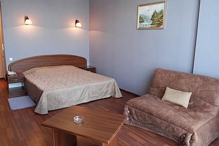 Отель Евразия , Стандартный 2-х местный  вид  на море