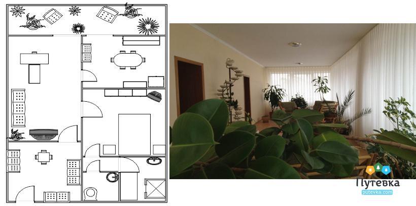 Апартаменты 4-комнатные, фото 1
