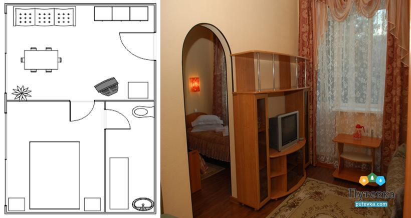 ПК 2-местный 2-комнатный, фото 1