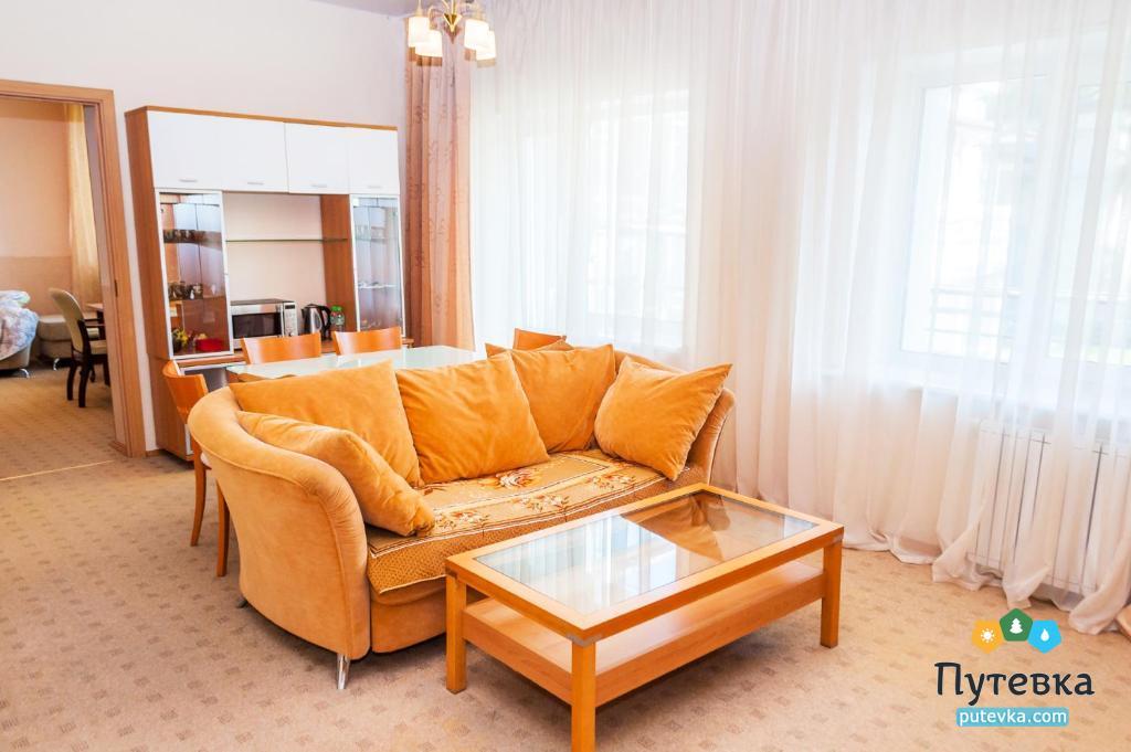 Люкс улучшенный 2-местный 2-комнатный, фото 6