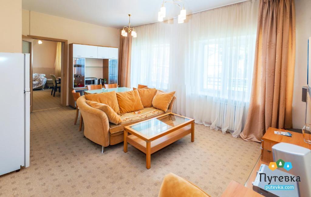 Люкс улучшенный 2-местный 2-комнатный, фото 8