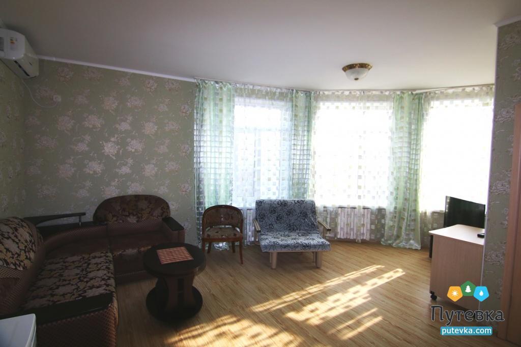 Люкс Плюс 2-местный 2-комнатный, фото 1