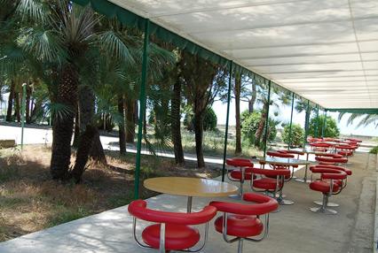 Пансионат Amza Park Hotel / Амза  (ex. Энергетик),Кафе